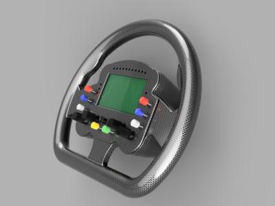SR GT-1 Steering Wheel
