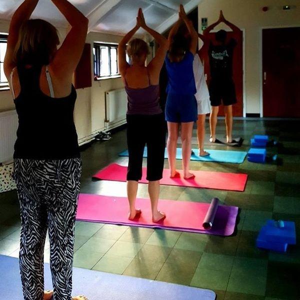 weybridge yoga class