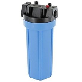 "10"" Filter Housing Blue Sump"
