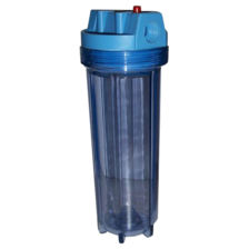 """10"""" Filter Housing Clear Sump"""