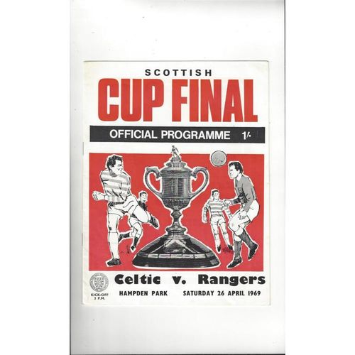 Scottish Cup Final Football Programmes