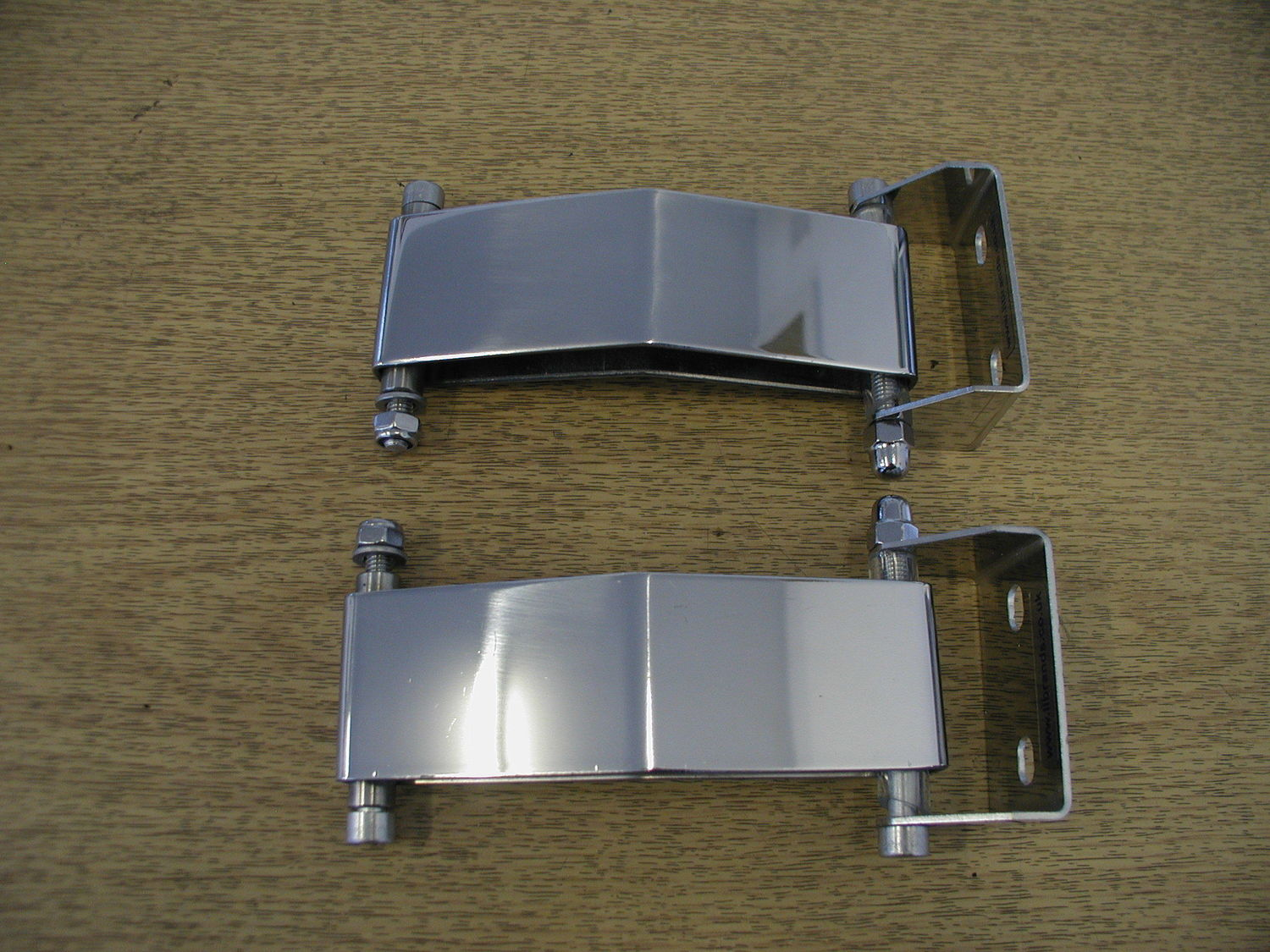 Door Check Straps MK2 - Stainless