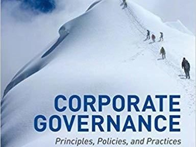 Corporate Governance: Principles, Policies, and Practices Paperback – 26 Feb 2015