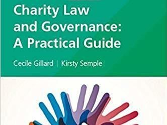 Charity Law and Governance: A Practical Guide Paperback – 23 Jan 2017