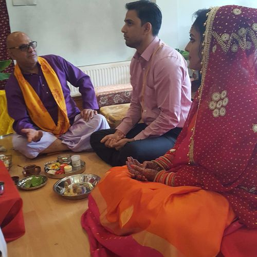 Small weddings and pooja at the Mandir