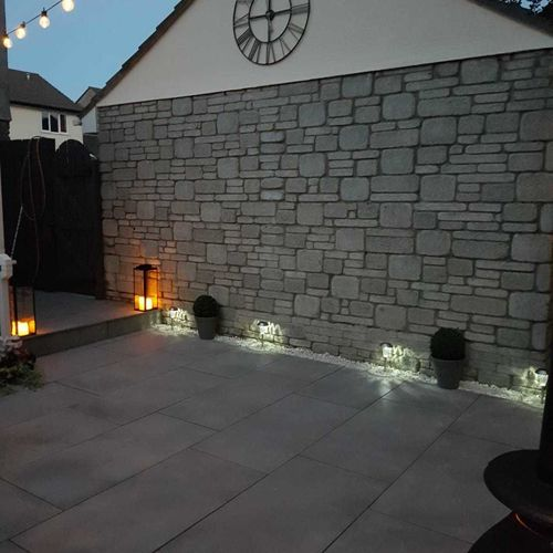 Luna Matt Cool Grey Porcelain Paving