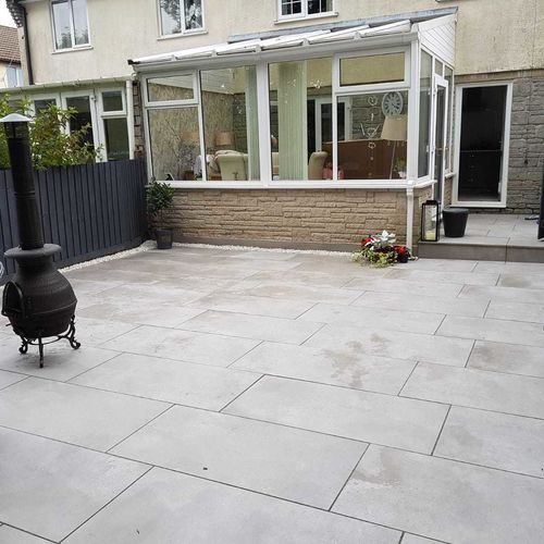 Galaxy Grey Porcelain Paving