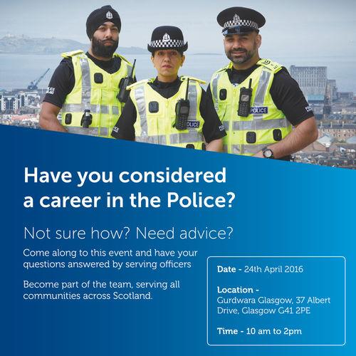 Scotland Police Recruitment