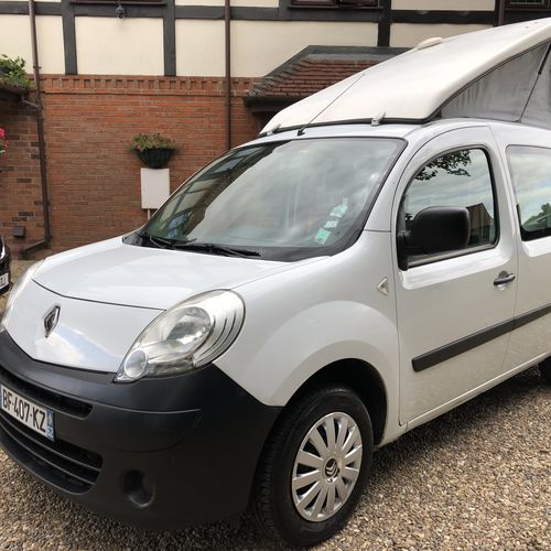 2011 Model Renault Kangoo Camper Van 1.5 DCi - French Registered - LHD Left Hand Drive