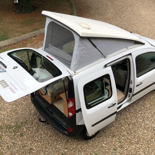 2011 Model Renault Kangoo Camper Van 1.5 DCi - French Registered - LHD Left Hand Drive