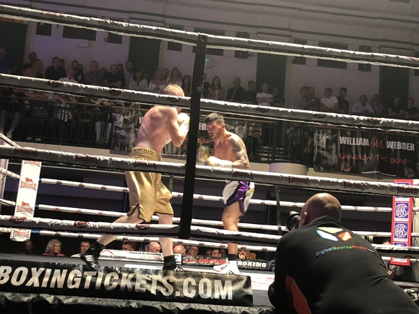 UNBEATEN GILLEY GETS JOB DONE IN CONVINCING FASHION
