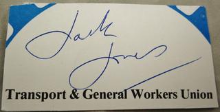 Jack Jones, Secret Agent (?)