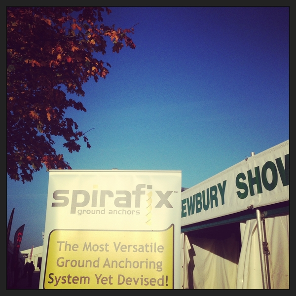 Spirafix sign up to Showman's Show