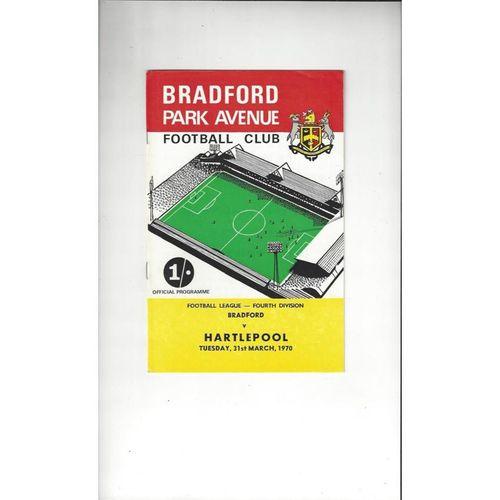 Bradford Park Avenue Home Football Programmes