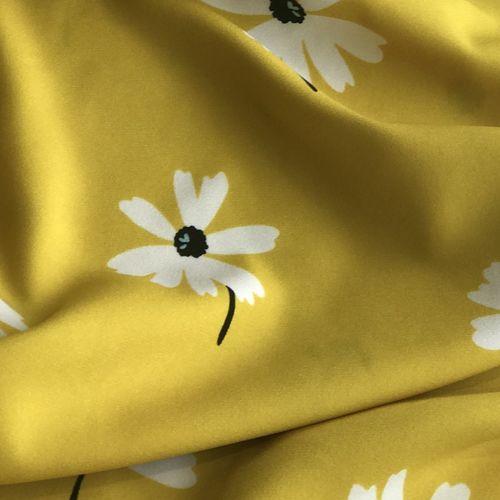 John Kaldor Peaseblossom Yellow Crepe