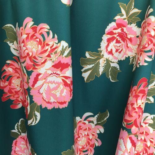 Lady McElroy Riverside Blooms Jade Scuba