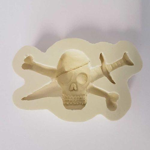 Pirate Head & Cutlass Mould