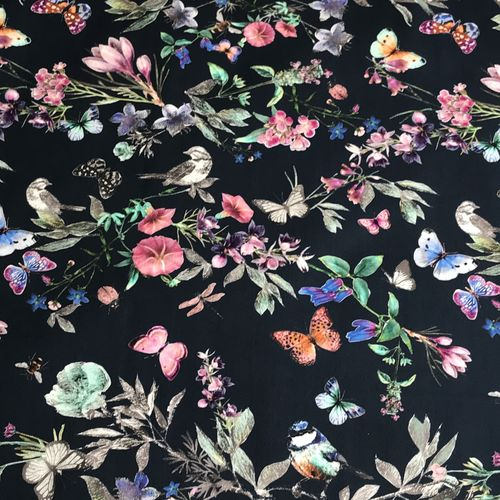 Lady McElroy Fruits Of The Forest Stretch Cotton Sateen