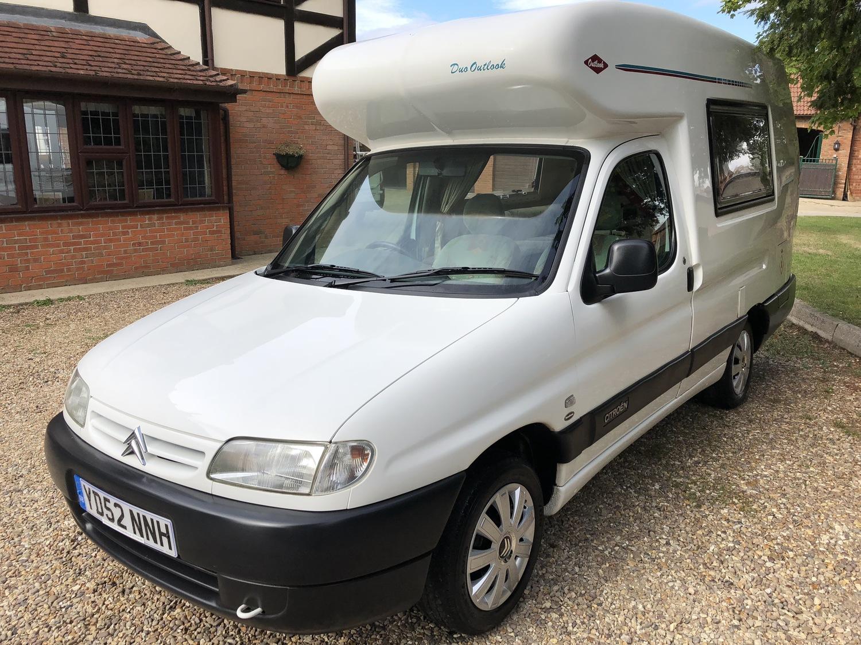 Romahome Duo Outlook Camper Van 2 Berth 49626 miles 02(52