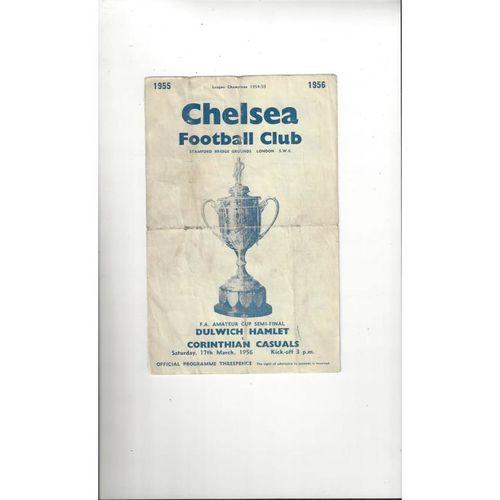 Amateur Cup Semi Final Football Programmes
