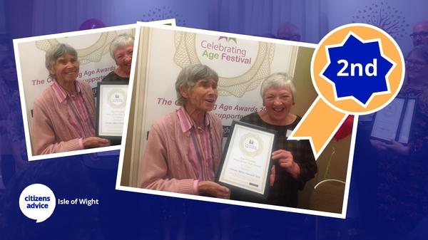 We Have Award Winning Volunteers!
