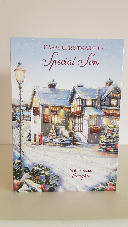 Son Street Winter Scene Christmas Card | Remember that card ...