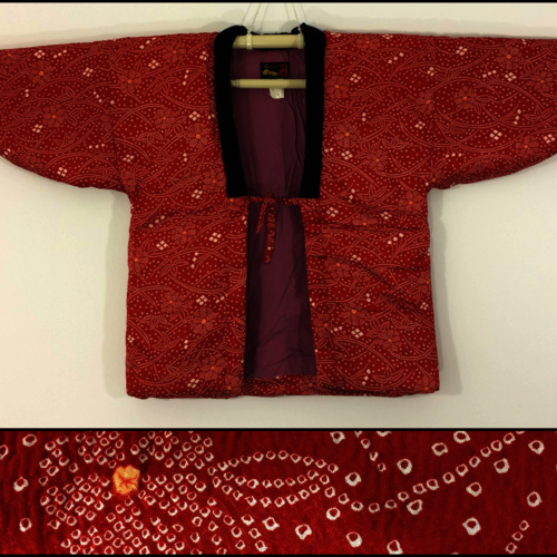 M, red hanten jacket for women