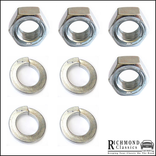 Classic Mini Ball Joint Replacement Nut and Washer Pack FNZ507
