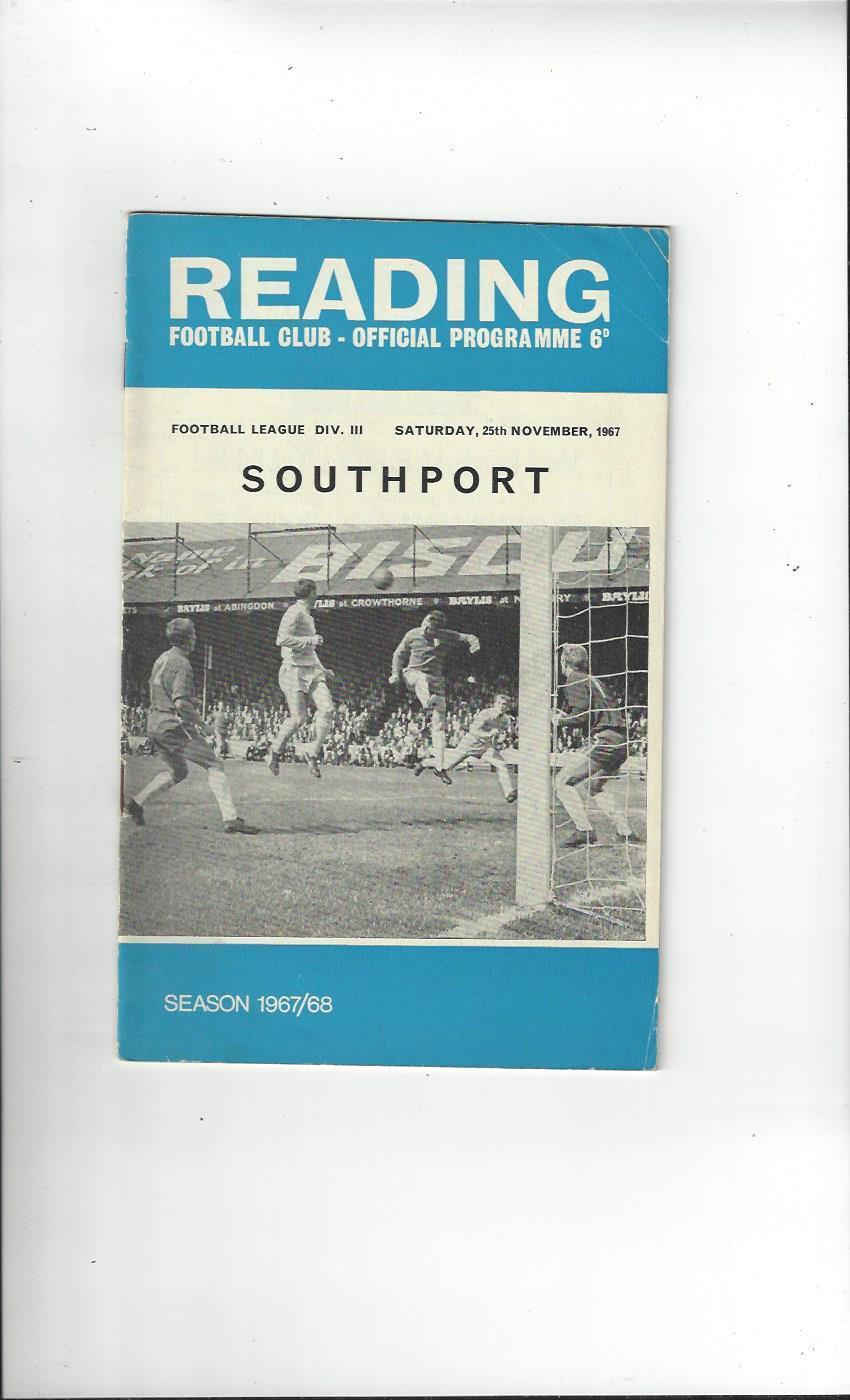 VARIOUS READING PROGRAMMES SEASON 1967//68