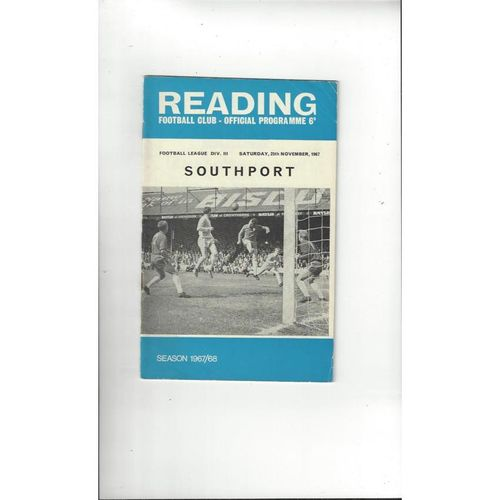 Southport Away Football Programmes