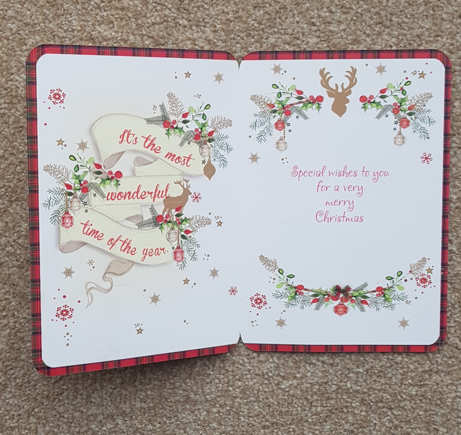 Son-in-Law Holly & Stars Christmas Card | Remember that card ...