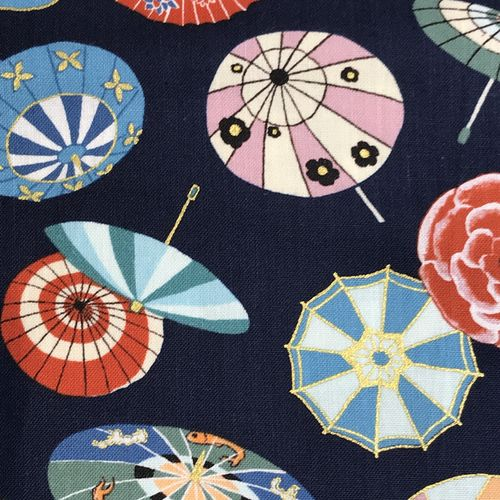 Colourful Parasols Cotton