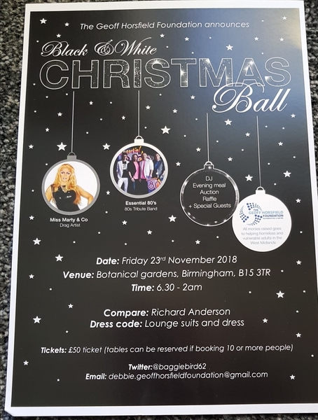 Geoff Horsfield Foundation Christmas Ball