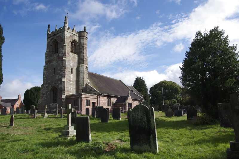All Saint's Church, Chebsey, Staffordshire