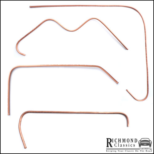 MG Midget 1500 Copper Fuel Lines - Under Bonnet Lines - 310221, 215924, 215938