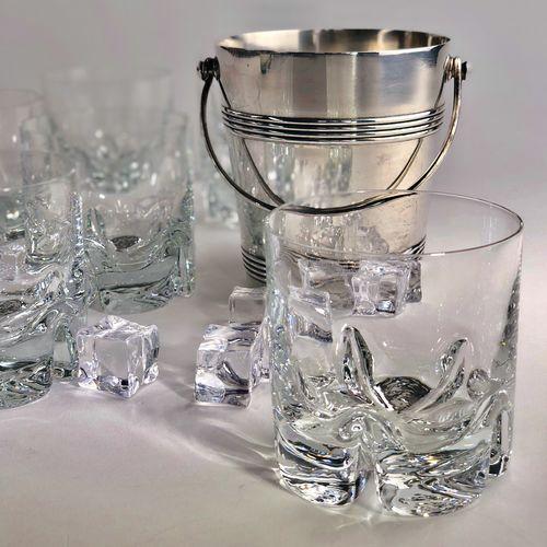Christofle Gallia silver plated ice bucket