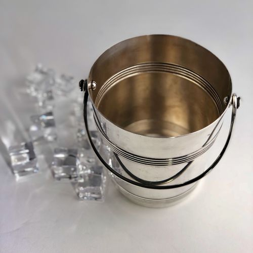 Christofle Gallia silver plated ice bucket