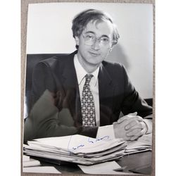 Sir George Young MP Signed 1989 Photo