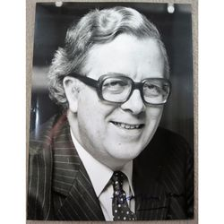 Sir Geoffrey Howe Signed Photo