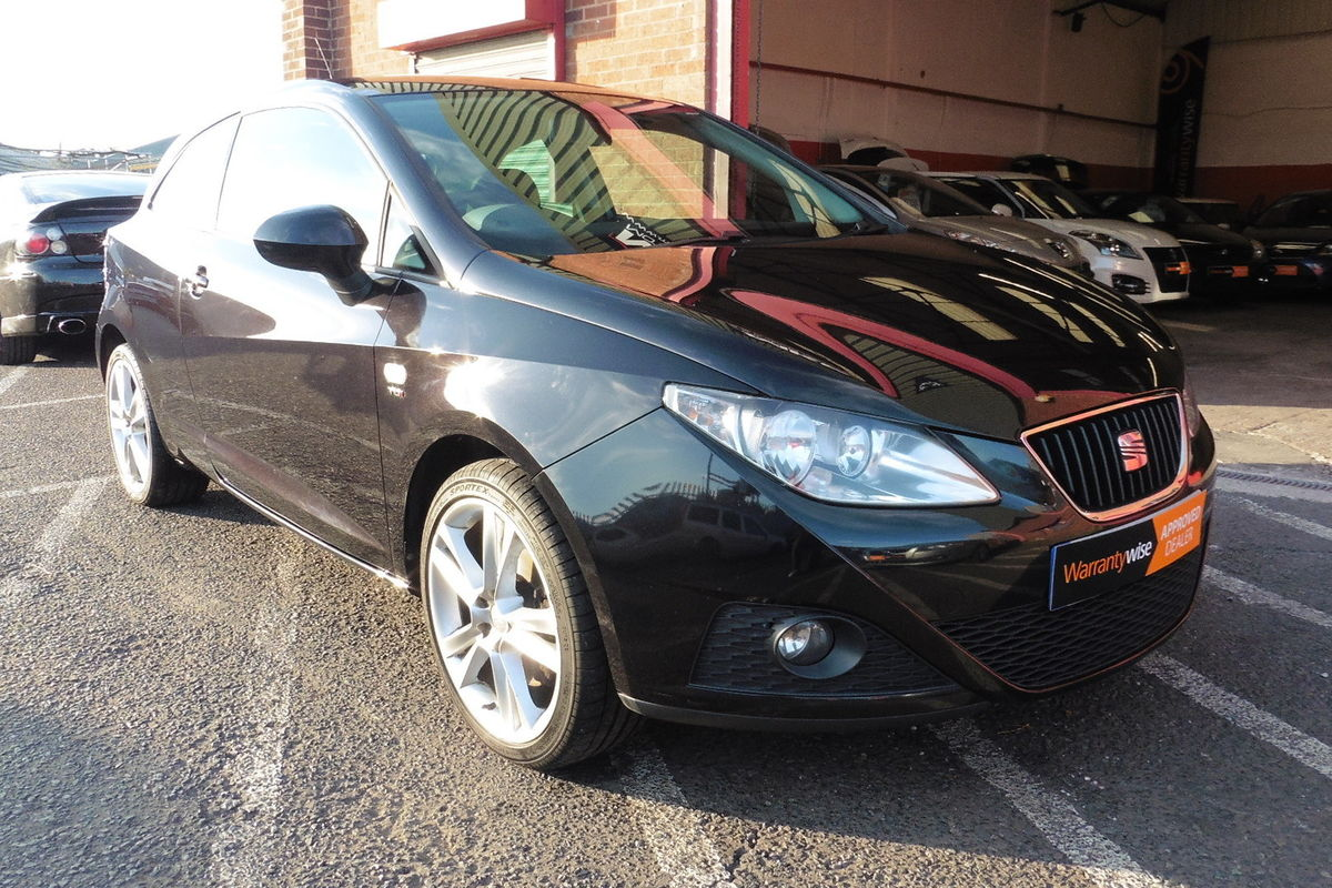 Seat Ibiza 1.6 TDI CR Sport SportCoupe 3dr - Only 2 Owners From New!