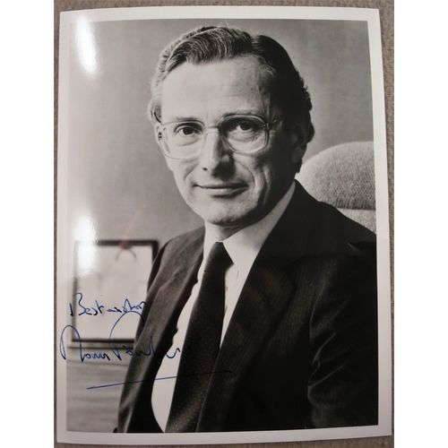 Norman Fowler Signed Photo c 1986