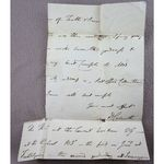 Daniel Wilson Bishop of Calcutta Signed Part Letter c 1840