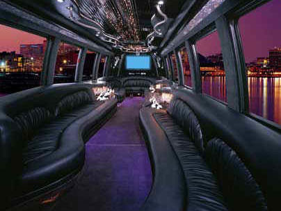 12 to 24 seat Limo Party Buses