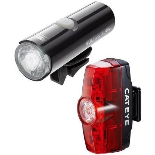 Cateye Volt 200 XC/Rapid Mini Light Set