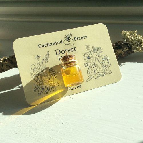 Dorset Flowers Botanical Face oil Sample