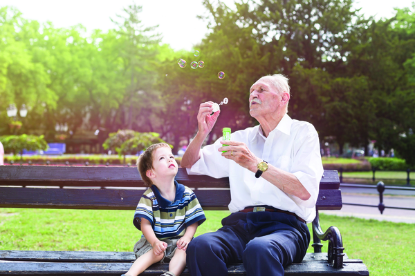 A grandchild for a day keeps dementia at bay!
