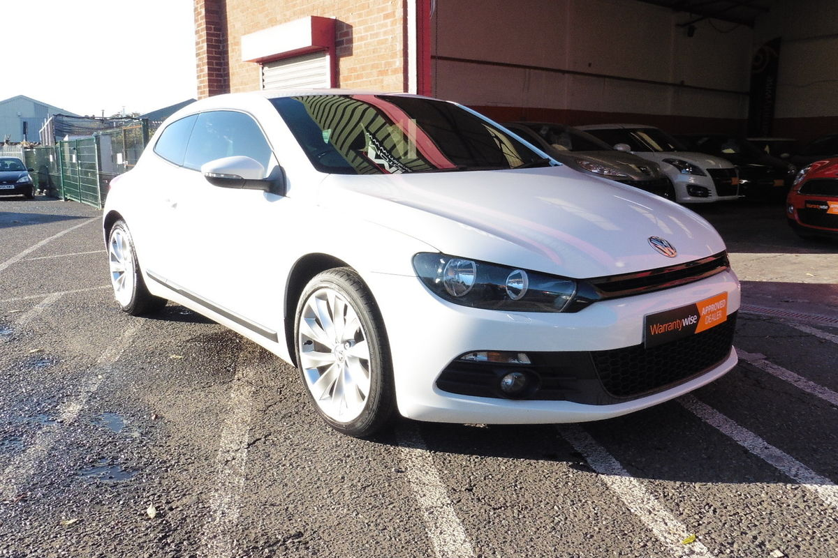 Volkswagen Scirocco 2.0 TDI CR GT DSG 3dr - Sat Nav - Full Leather Interior!