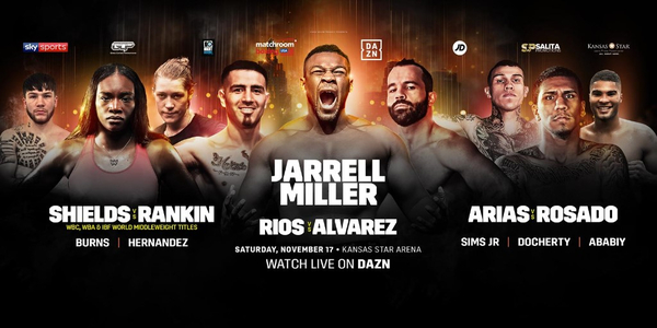 MILLER, SHIELDS AND RIOS STAR IN HUGE KANSAS FIGHT NIGHT
