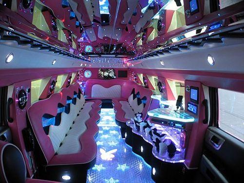 Pink Hummer Limousine's