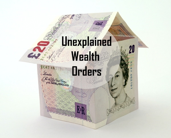 More Unexplained Wealth Orders?